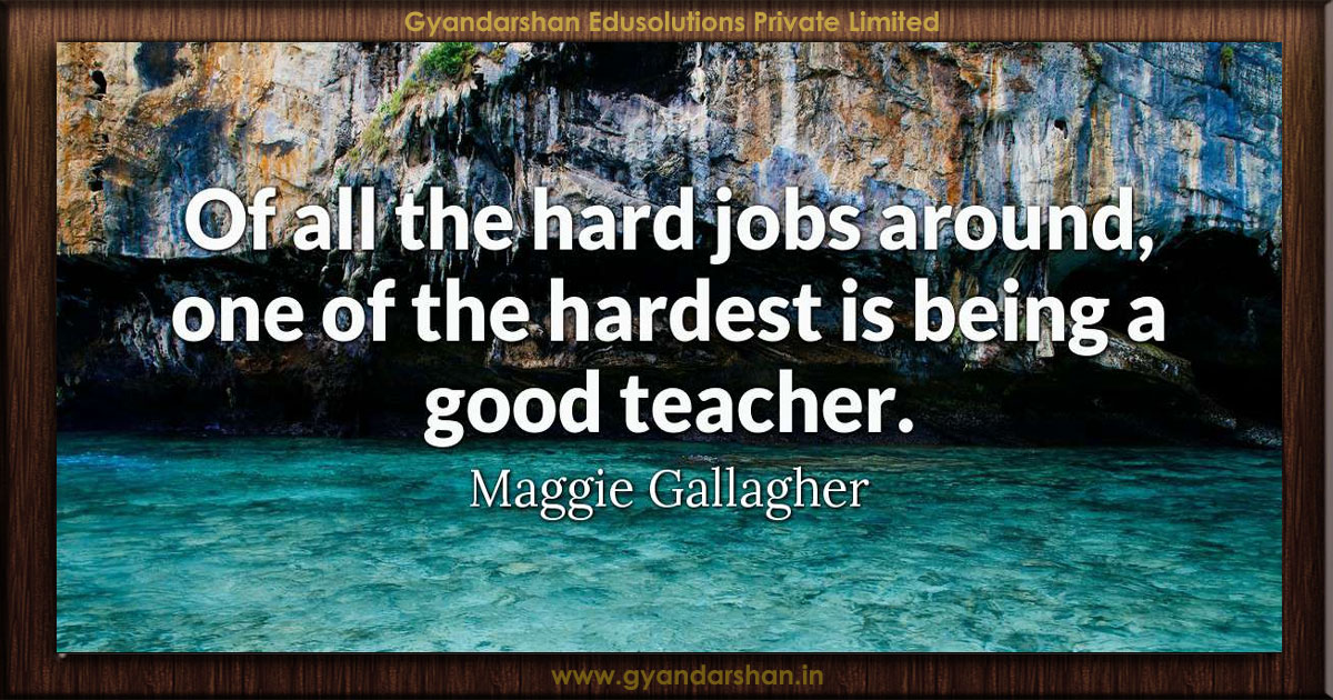 of all the hard jobs around one of the hardest is being a good