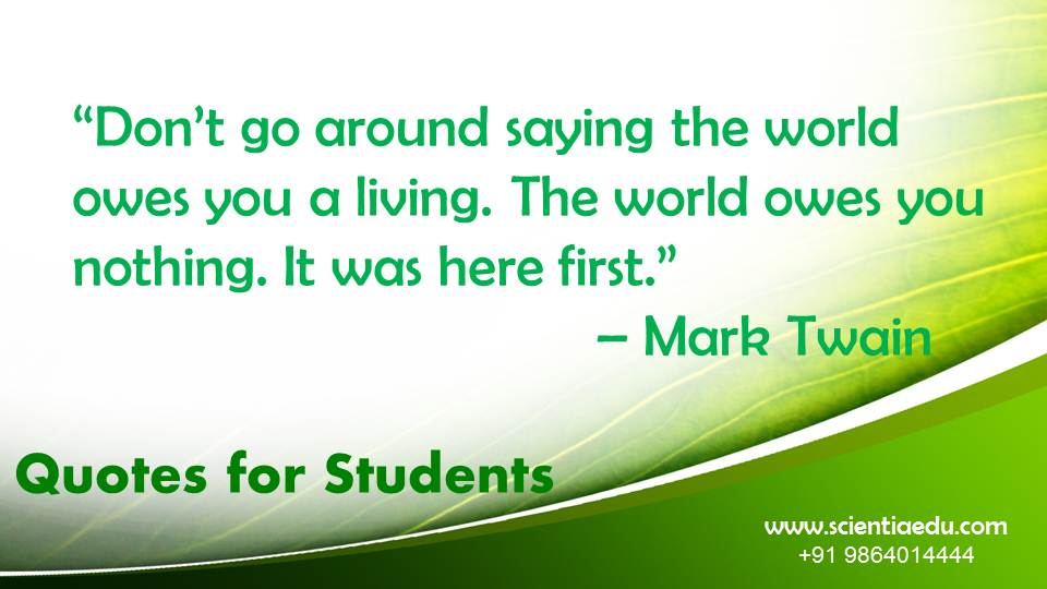 Quotes for Students22