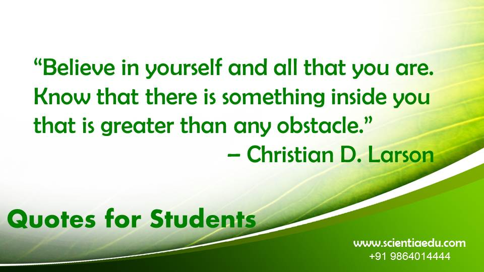 Quotes for Students26