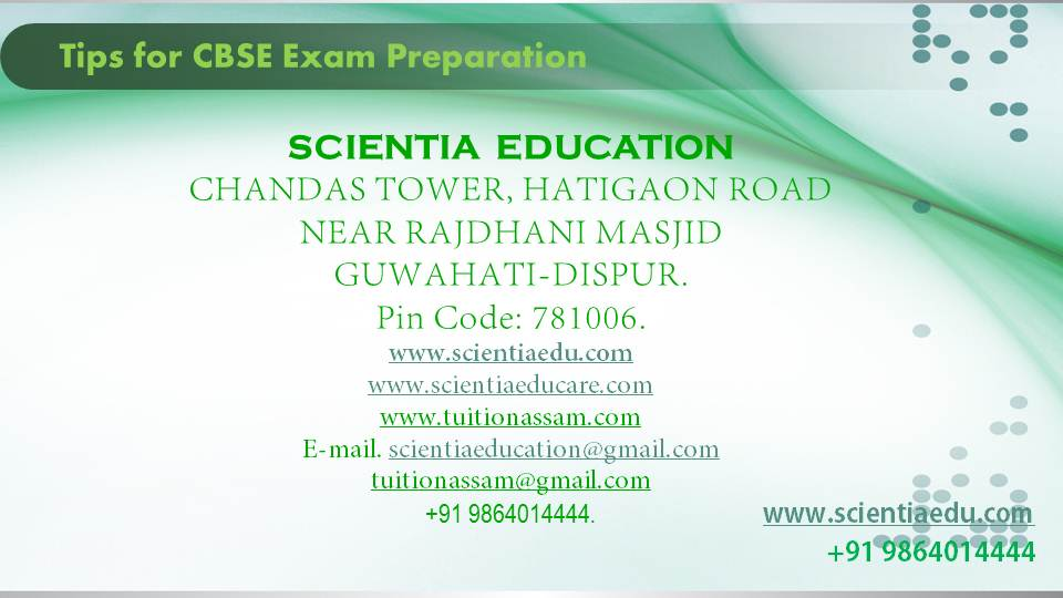 Tips for CBSE Exam Preparation12