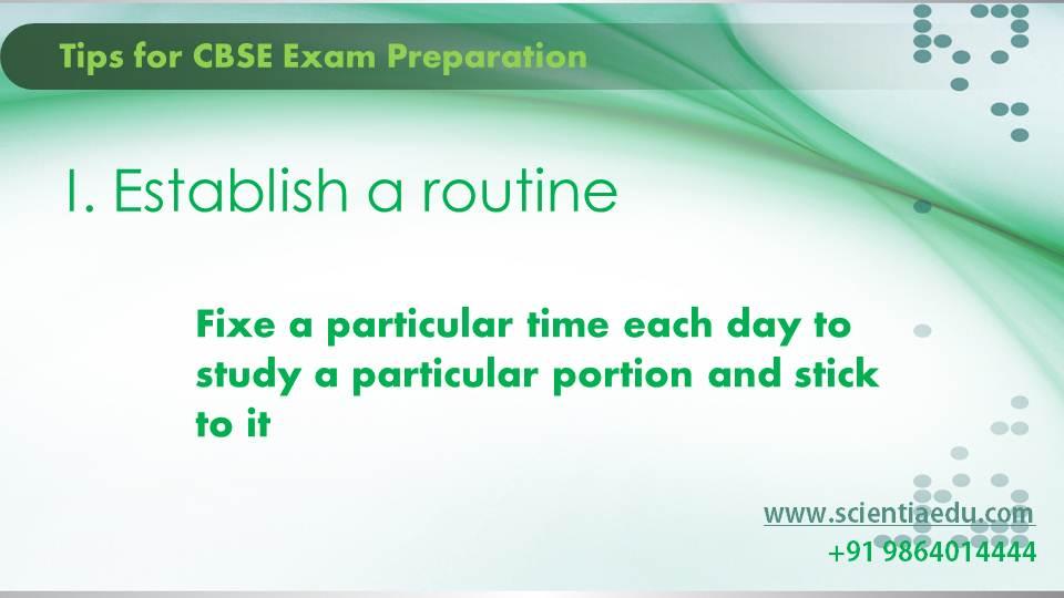 Tips for CBSE Exam Preparation2