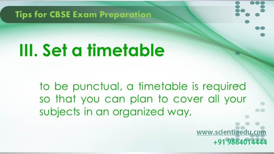 Tips for CBSE Exam Preparation4