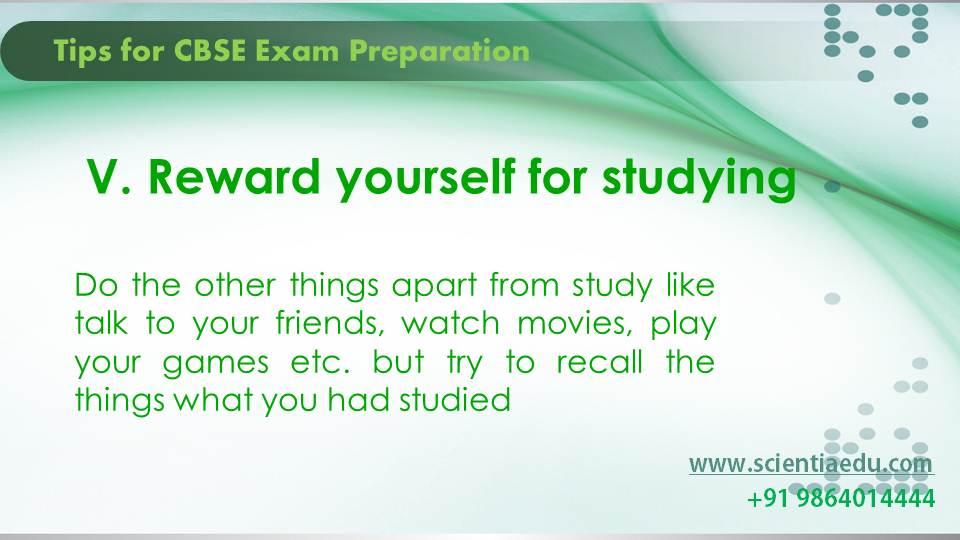 Tips for CBSE Exam Preparation6