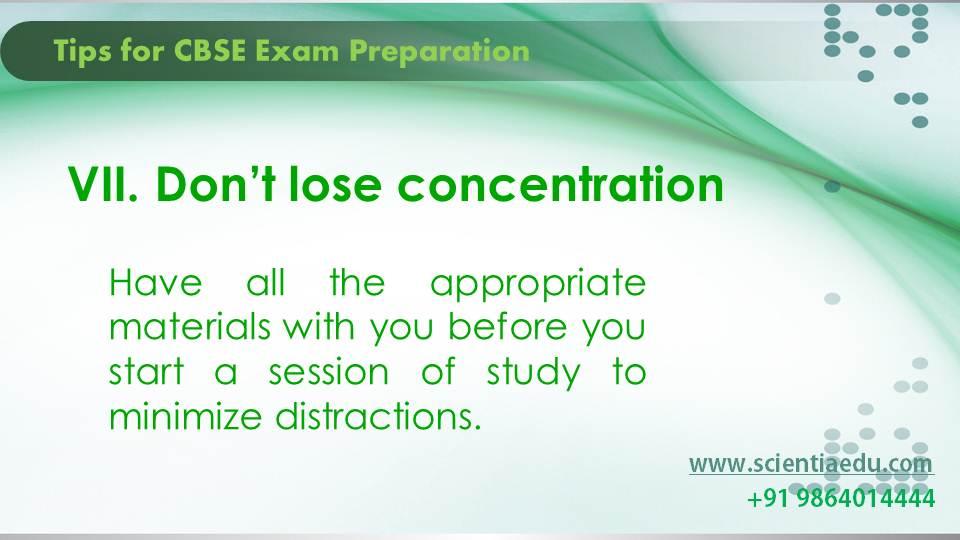 Tips for CBSE Exam Preparation8