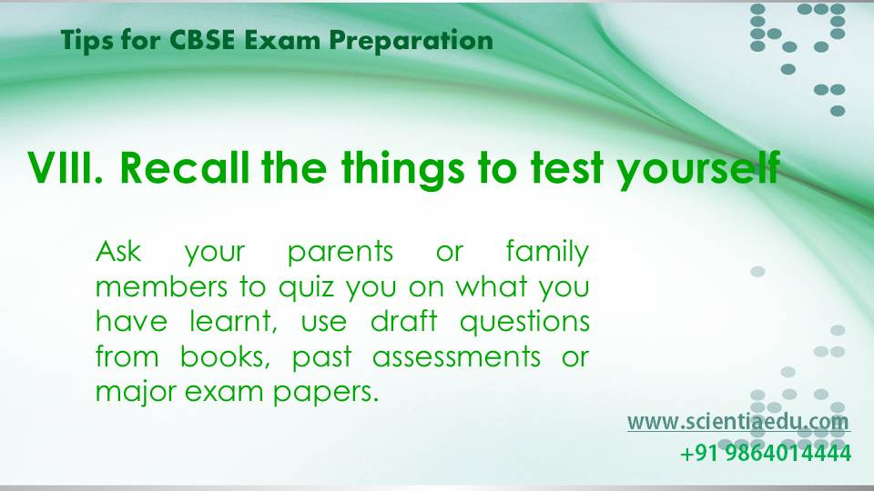 Tips for CBSE Exam Preparation9
